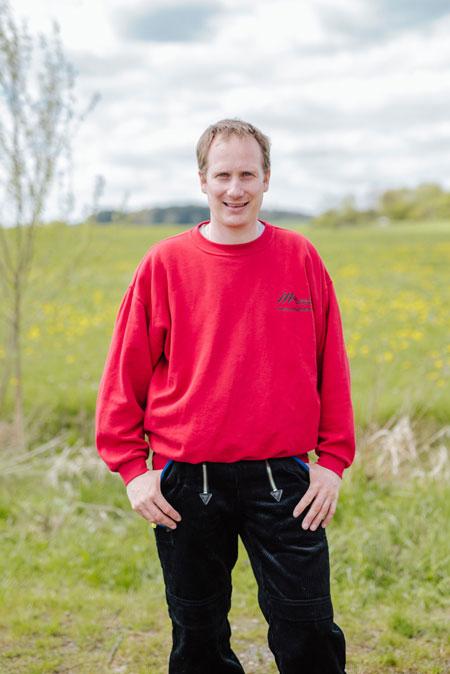 Dachdeckermeister Arno Huthwelker